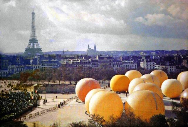 Esplanade des Invalides - 1909