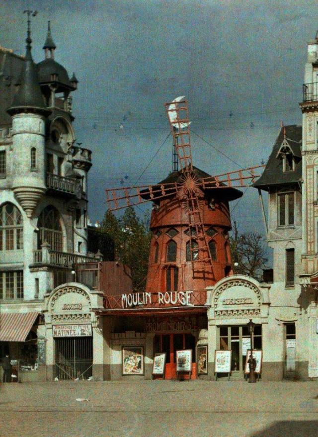 Moulin Rouge vers 1900
