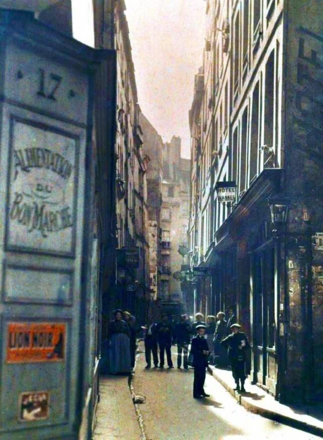 Rue de la Huchette et rue Xavier Privas par Stéphane Passet