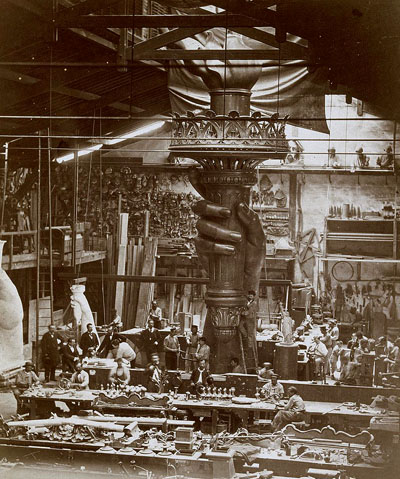1878-statue-liberte-atelier-credit-musee-orsay