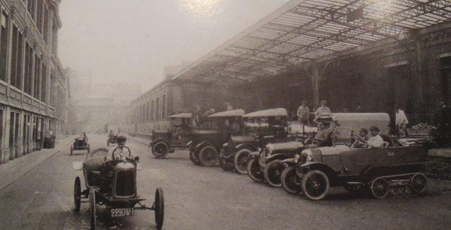 Les autochenilles Citroën