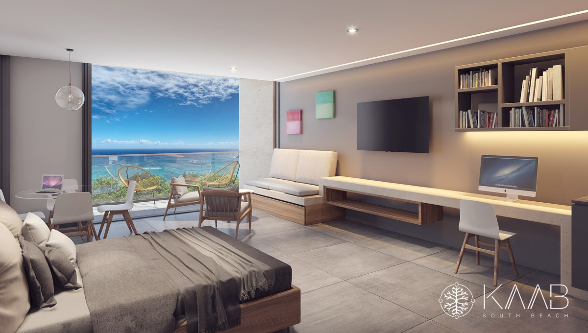 VISTA DEPARTAMENTO 48 M2 - Kaab south beach
