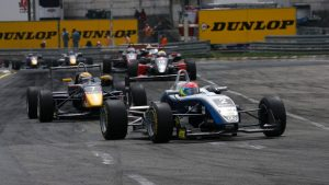 The two great rivals - Grosjean and Buemi - are at the head of the field at the Norisring.