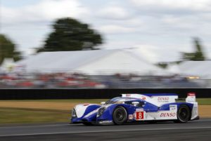 The No. 8 in action at Le Mans, a race sadly cut short by an accident for teammate Davidson. (Reuters)