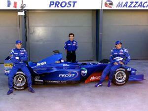Failing to recover from losing most of their sponsors, Prost were liquidated in 2002.