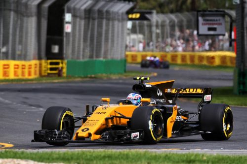 Palmer struggled to turn the corner in 2017. Photo: Renault Sport