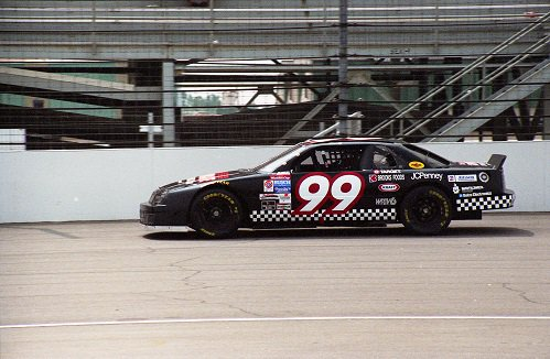 Danny Sullivan with Virtue Racing. His NASCAR stint, ironically, was without virtue.
