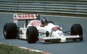 JH21C 1986 - Ivan Capelli (F1 Estoril)