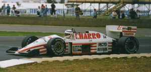 JH22 1987 - Pascal Fabre (F1 Silverstone) - revised airbox