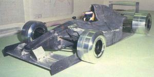 AGS JH26 wind tunnel model
