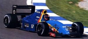 JH27 1991 - Olivier Grouillard (F1 Barcelona)
