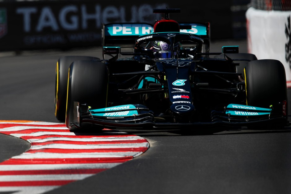 Monaco was a weekend to forget for everyone at Mercedes. Photography: 2021 Monaco Grand Prix, Thursday - LAT Images