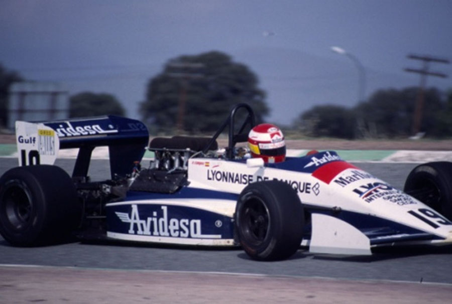 After switching drives mid-way through his F3000 year, Campos wiggled his way into a Tyrrell test drive, which paved the way for his entrance to F1. Photo: Campos Racing.