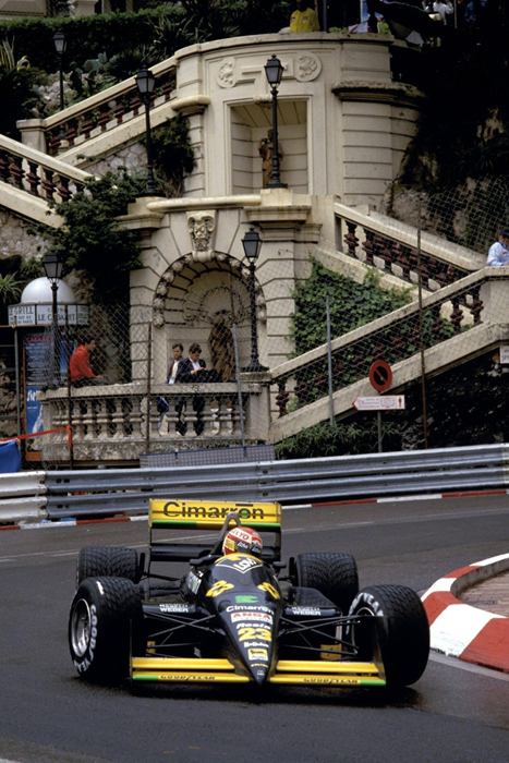 In the glitz and glamour of Monaco, Campos had made it, even if he would never start either of his Monaco Grand Prix attempts. Photo: Campos Racing.