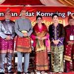 Gelar Adat Komering diterima Presiden Jokowi dan Iriana Jokowi