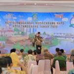 Wali Kota  Tangerang Sampaikan Tiga Program Utama Pembangunan Dalam Musrenbang RKPD