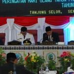 Rapat Paripurna Istimewa ke-I Dalam Rangka Memperingati Hari Jadi Provinsi Kaltara