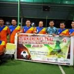 Turnamen Futsal Perum Griya Bukit Pelangi Jilid IV Berlangsung Meriah