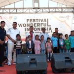 Gelar Perdana, Festival Wonderful Indonesia Diserbu Pengunjung
