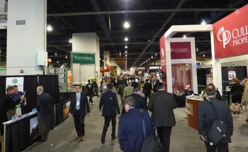 A busy Monday at ICSC