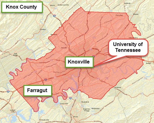 county map details