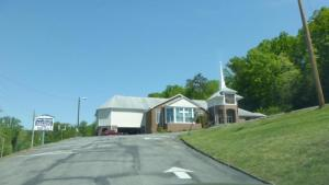 Front view of Clear Springs Baptist Church, Corryton, TN