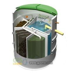 Microplanta para el tratamiento de agua residual DR AT con capacidad para reutilizar el agua cumpliendo con las NOM001, NOM002 y hasta NOM003 SEMARNAT