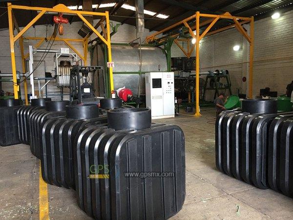 Fabrica de microplantas de tratamiento de agua residual Gpsmx