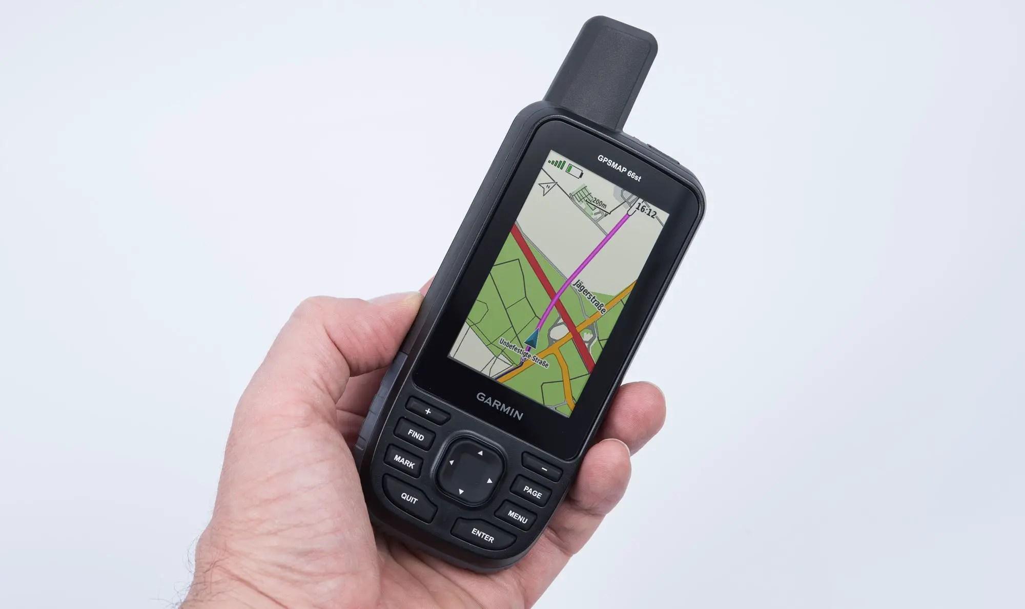 Garmin Gpsmap 66st Im Test 187 Gps Outdoor Navigation Mit Tasten