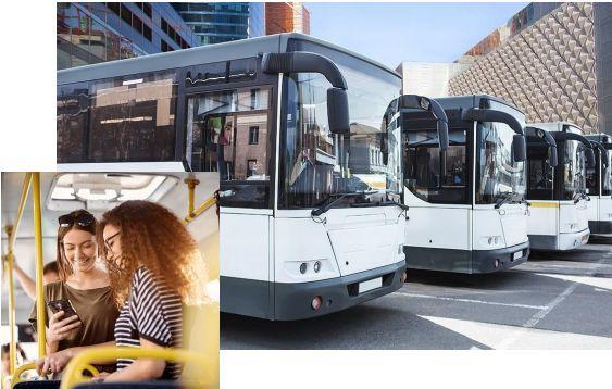 passenger transport gps, gps for buses, gps data for bus
