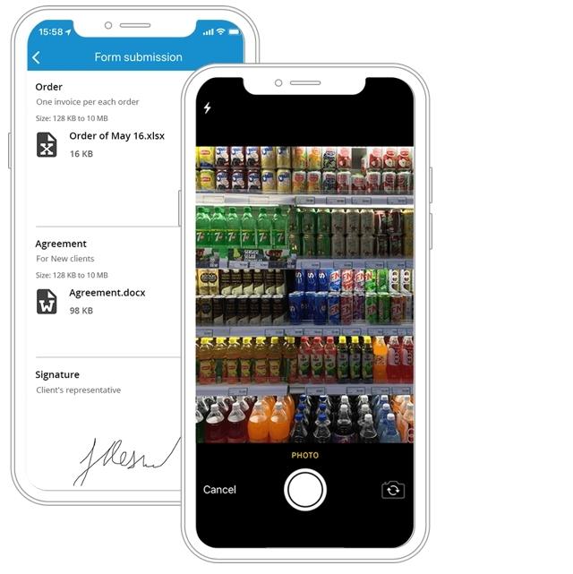gps smart comms, push notifications, scheduling tasks work runs shift