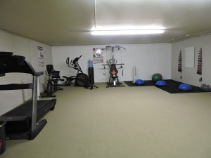 GPTCHB exercise area.