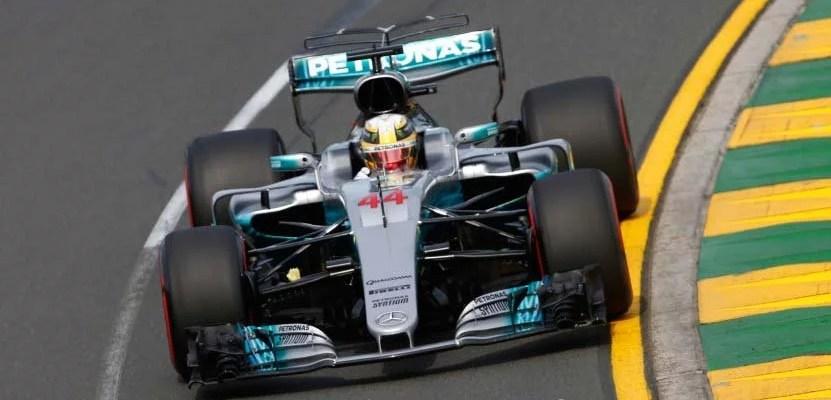Hamilton na Mercedes #44 em Melbourne