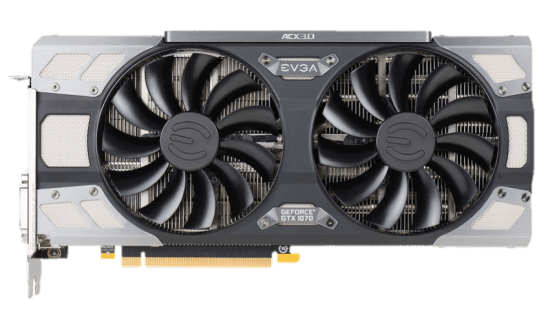 EVGA ACX 3.0 FTW Gaming GTX 1070