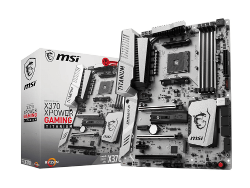 MSI X370 XPower Gaming Titanium Motherboard for Ryzen