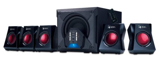 Genuis GX-Gaming 5.1 Surround Sound Speakers