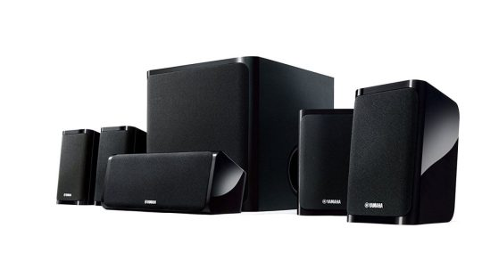 Yamaha NS-P40BL 5.1 Speakers