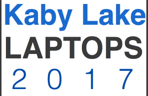 kaby lake laptop guide