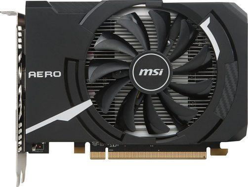 MSI AERO Radeon RX 550 Budget GPU