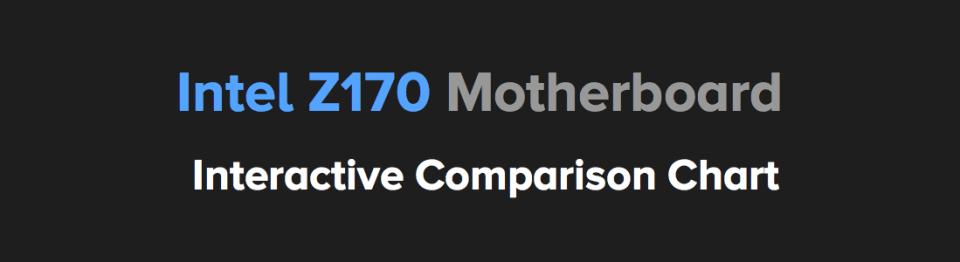 best z170 motherboard