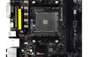 Biostar Racing X370GTN Mini ITX X370 Motherboard