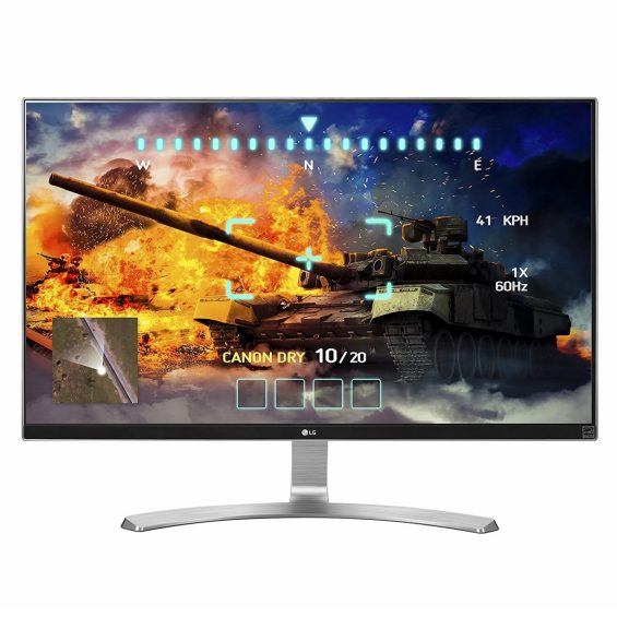 LG 27UD68-W 4K Monitor for Xbox One X