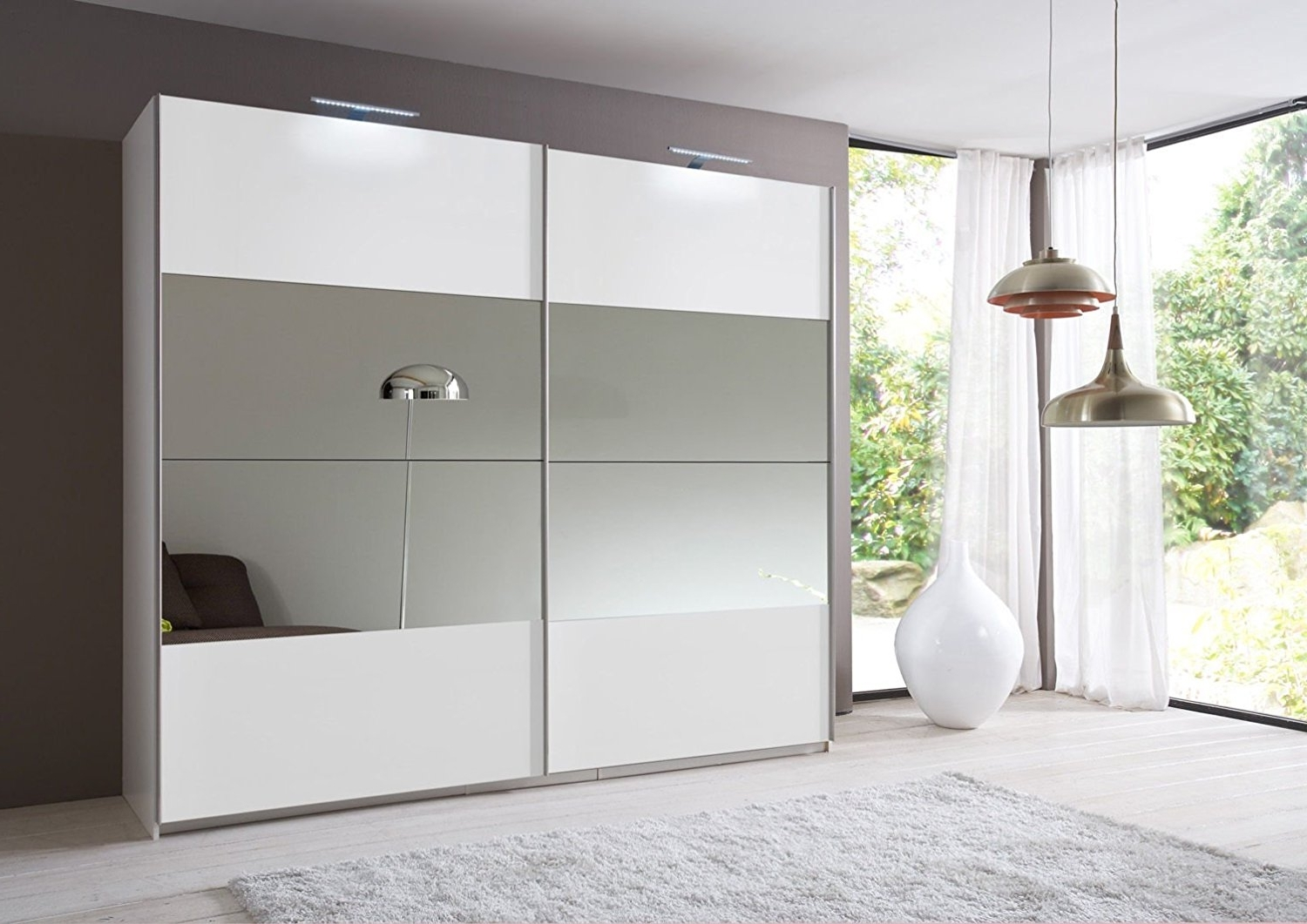 15 Inspirations Of Wardrobes With 2 Sliding Doors