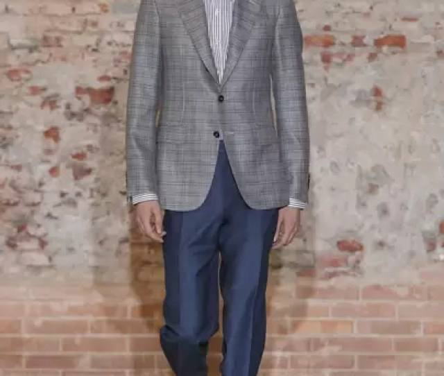 Canali Spring Summer 2019 Menswear Collection