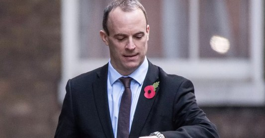 Image result for dominic raab