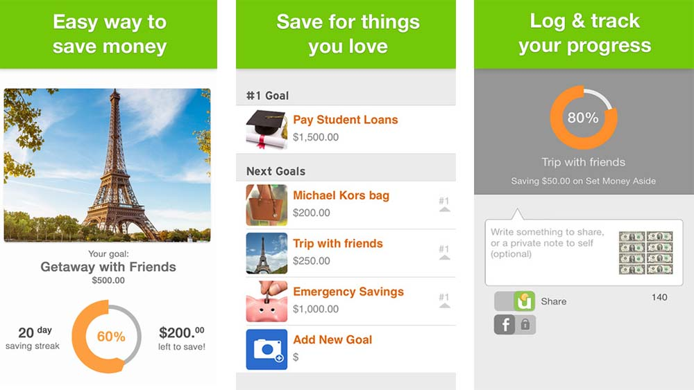 These are the best money saving apps to make sure you will always have money in your account!