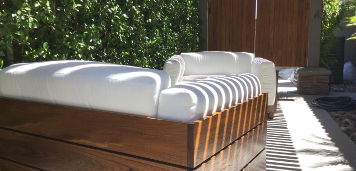 Modern teak chairs palm springs gq interior for Palm springs modern furniture