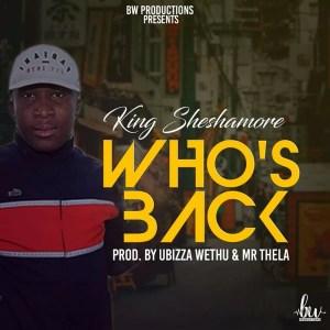SheshaMore - Guess Who's Back (Prod. By uBizza Wethu & Mr Thela)