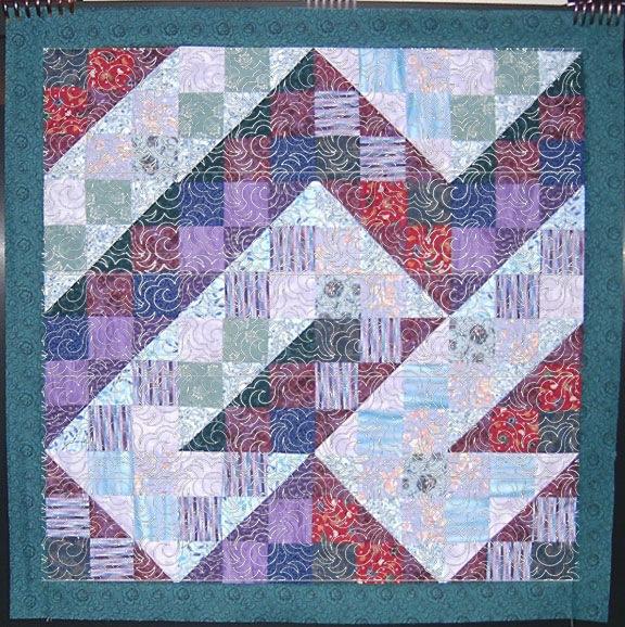Tissue Paper Quilt Marking (6/6)