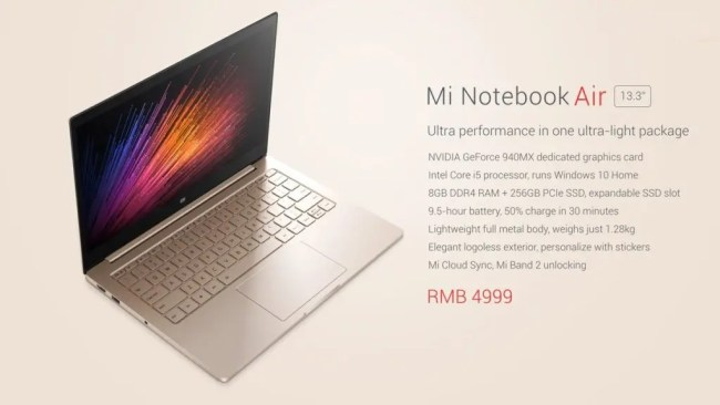 notebook air 13